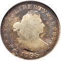 Early Dimes, 1796 10C JR-1, R.3, Good 6 NGC....