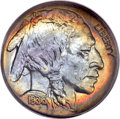 Proof Buffalo Nickels, 1936 5C Type One -- Satin Finish PR68 PCGS. CAC....