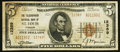 National Bank Notes:Missouri, Saint Louis, MO - $5 1929 Ty. 2 The Telegraphers NB Ch. # 12389....