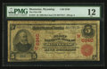 National Bank Notes:Wyoming, Meeteetse, WY - $5 1902 Red Seal Fr. 587 The First NB Ch. #(W)6340. ...