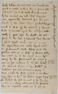 Autographs:Non-American, Sir James H. Ramsay Autographed Letter....