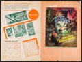 """Movie Posters:Adventure, Jungle Book & Other Lot (United Artists, 1942/Film Classics,R-1947). Uncut Pressbook (20 Pages, 12"""" X 18""""), Photos (24) (7....(Total: 30 Items)"""