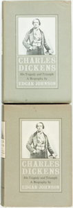 Books:Biography & Memoir, Edgar Johnson. Charles Dickens. His Tragedy andTriumph. [New York]: Simon and Schuster, 1952. Book clubedition... (Total: 2 Items)