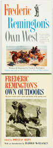 Books:Biography & Memoir, Harold McCracken, editor. INSCRIBED. Pair of Books about FredericRemington, one of which is INSCRIBED by the Editor. Ne... (Total: 2Items)