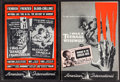 Movie Posters:Horror, I was a Teenage Werewolf/Invasion of the Saucer-Men Combo &Others Lot (American International, 1957). Uncut Pressbooks (7) ...(Total: 7 Items)