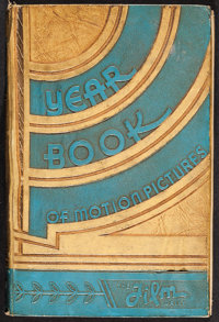 "Film Daily Year Book of Motion Pictures (Film and Television Daily, 1935). Hard Cover Book (1088 Pages, 6"" X 9""..."