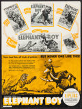"Movie Posters:Adventure, Elephant Boy (United Artists, 1937). Uncut Pressbook (18 Pages, 12""X 18""), Photos (3) (8"" X 10""), Trimmed Keybook Photos (1... (Total:20 Items)"
