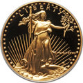Modern Bullion Coins, 1987-W G$50 One-Ounce Gold Eagle PR70 Deep Cameo PCGS. PCGS Population (497). NGC Census: (1343). Numismedia Wsl. Price fo...