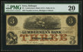 Obsoletes By State:Iowa, Dubuque, IA- Lumbermen's Bank of E.L. Fuller & Co. $3 Sep. 1,1857 Oakes 55-3. ...