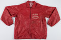 Football Collectibles:Uniforms, Circa 1970's St. Louis Cardinals Football Game Worn Sideline Jacket....