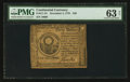 Colonial Notes:Continental Congress Issues, Continental Currency November 2, 1776 $30 PMG Choice Uncirculated63 Net.. ...