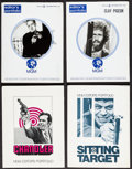 "Movie Posters:Crime, The Last Run & Others Lot (MGM, 1971). Presskits (4) (9"" X11.5"" & 9"" X 12"" ). Crime.. ... (Total: 4 Items)"