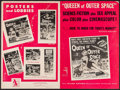 """Movie Posters:Science Fiction, Queen of Outer Space & Others Lot (Allied Artists, 1958). Uncut Pressbooks (13) (Multiple Pages, 11"""" X 14"""" - 12.25"""" X 18.25""""... (Total: 13 Items)"""