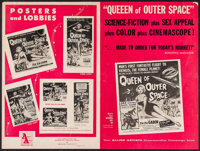 "Queen of Outer Space & Others Lot (Allied Artists, 1958). Uncut Pressbooks (13) (Multiple Pages, 11"" X 14&q..."