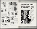 "Movie Posters:Academy Award Winners, West Side Story & Others Lot (United Artists, 1961). UncutPressbooks (27) (Multiple Pages, 8.5"" X 11"" - 4"" X 19""), AdSuppl... (Total: 37 Items)"