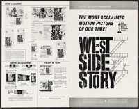 "West Side Story & Others Lot (United Artists, 1961). Uncut Pressbooks (27) (Multiple Pages, 8.5"" X 11""..."