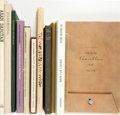 Books:Literature 1900-up, [Poetry]. Group of Twelve Books, Four SIGNED. Various publishers.1933-1998.... (Total: 12 Items)