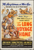 """Movie Posters:Drama, The Long Voyage Home (United Artists, 1940). One Sheet (27"""" X 41"""").Drama.. ..."""