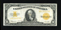 Large Size:Gold Certificates, Fr. 1173 $10 1922 Gold Certificate Very Fine-Extremely Fine. Solid for the grade and absolutely original is this gorgeous go...