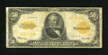 Large Size:Gold Certificates, Fr. 1200 $50 Mule 1922 Gold Certificate Very Good-Fine. Back plate number 4 is found in the Mule position on this $50 Gold. ...