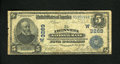 National Bank Notes:Colorado, Denver, CO - $5 1902 Plain Back Fr. 590 The Denver NB Ch. #(W)3269. This note is in the Kelly census, but without a gra...