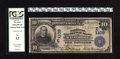 National Bank Notes:Maryland, Baltimore, MD - $10 1902 Date Back Fr. 616 The National ExchangeBank Ch. # (E)1109. Famed coin collector Waldo Newcomer...