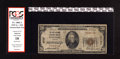 """National Bank Notes:Virginia, Roanoke, VA - $20 1929 Ty. 1 The First National Exchange Bank Ch. #2737. The PCGS red label states """"small hole."""" PCGS..."""