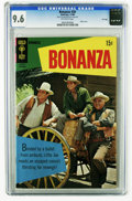 Bronze Age (1970-1979):Western, Bonanza #30 File Copy (Gold Key, 1968) CGC NM+ 9.6 Off-white pages. Photo cover. Overstreet 2005 NM- 9.2 value = $80. CGC ce...