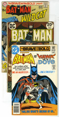 Bronze Age (1970-1979):Miscellaneous, DC Bronze Group (DC, 1964-83) Condition: Average VG/FN. IncludesBrave and the Bold #88, 96, 102, and 181; Batman #2... (Total: 36Comic Books)