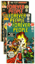 Bronze Age (1970-1979):Miscellaneous, DC Bronze Group (DC, 1964-75) Condition: Average VG. Includes TheForever People #1, 2, 3, 4, 5, 6, 7, 8, 9, 10, and 11 ... (Total:42 Comic Books)