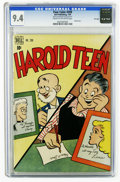Golden Age (1938-1955):Humor, Four Color #209 Harold Teen - File Copy (Dell, 1949) CGC NM 9.4 Cream to off-white pages. Featuring Harold Teen. Overstreet ...