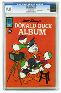 Silver Age (1956-1969):Cartoon Character, Four Color #1182 Donald Duck Album - File Copy (Dell, 1961) CGC VF/NM 9.0 Off-white pages. Overstreet 2005 VF/NM 9.0 value =...
