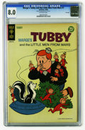 Silver Age (1956-1969):Humor, Marge's Tubby and the Little Men From Mars #1 File Copy (Gold Key, 1964) CGC VF 8.0 Off-white pages. Overstreet 2005 VF 8.0 ...