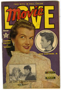 Golden Age (1938-1955):Non-Fiction, Movie Love #8 (Famous Funnies, 1951) Condition: FN/VF. AlWilliamson and Frank Frazetta art. Overstreet 2005 FN 6.0 value =...