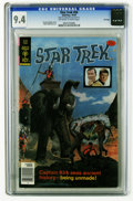 Bronze Age (1970-1979):Science Fiction, Star Trek #56 File Copy (Gold Key, 1978) CGC NM 9.4 Off-white to white pages. Painted cover. Overstreet 2005 NM- 9.2 value =...