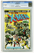 "Modern Age (1980-Present):Superhero, X-Men CGC Group (Marvel, 1975-77). All issues are certified with""off-white to white"" page quality unless otherwise noted. I...(Total: 9 Comic Books)"