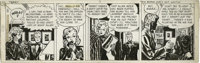 Milton Caniff - Terry and the Pirates Daily Comic Strip Original Art, dated 12-16-46 Original Art (Chicago Tribune, 1946...