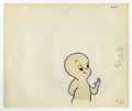 "Original Comic Art:Miscellaneous, Casper Production Cel and Drawing Original Art (undated). Casperwaves a friendly ""hello,"" in this original animation produc...(Total: 2 Items)"