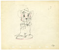 "Original Comic Art:Miscellaneous, Walt Disney Studios - ""The Country Cousin"" Animation ProductionDrawing Original Art (Disney, 1936). Country mouse, Abner, s..."