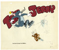 Original Comic Art:Miscellaneous, Tom and Jerry Hand Painted Animation Cel Original Art, Group of 2(MGM, 1980). Tom and Jerry share another disastrous moment...(Total: 3 Items)