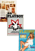 Magazines:Miscellaneous, Playboy Complete Years 1975-79 Group of 60 (HMH Publishing,1975-79) Condition: Average VF+.... (Total: 2 Box Lots)
