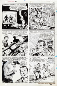 Dick Ayers and Syd Shores Capt. Savage and his Leatherneck Raiders #3 Pages 9-20 Original Art Group of 12 (Marvel,... (T...