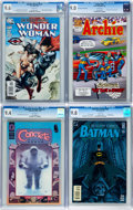 Modern Age (1980-Present):Miscellaneous, Assorted CGC-Graded Modern Age Comics Group of 4 (Various Publishers, 1995-2007).... (Total: 4 Comic Books)