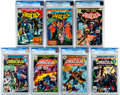 Bronze Age (1970-1979):Horror, Tomb of Dracula CGC-Graded Group of 7 (Marvel, 1974-78).... (Total:7 Comic Books)