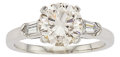 Estate Jewelry:Rings, Diamond, Platinum Ring, Tiffany & Co.. ...