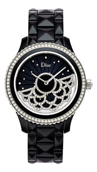 Dior VIII Grand Bal Dentelle Lady's Diamond, Ceramic, Stainless Steel Automatic Wristwatch