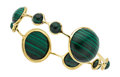 Estate Jewelry:Bracelets, Malachite, Gold Bracelet, Ippolita. ...
