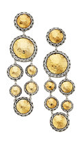 Estate Jewelry:Earrings, Gold, Sterling Silver Earrings, John Hardy. ...