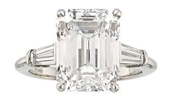 Featured item image of Diamond, Platinum Ring, Tiffany & Co.  ...