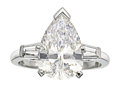 Estate Jewelry:Rings, Diamond, Platinum Ring. ...